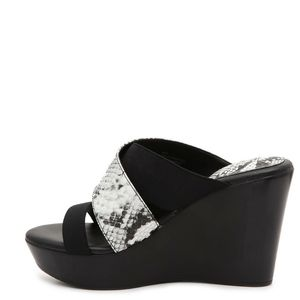 Charles David Shoes - Charles David Fefe Wedges Sandal